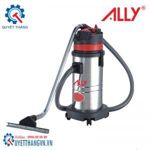 Máy hút bui, máy hút bụi công nghiệp, máy hút bụi khô và ướt 80 lít