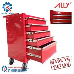 Tủ đẩy đựng đồ nghề 5 ngăn QT-05 Ally