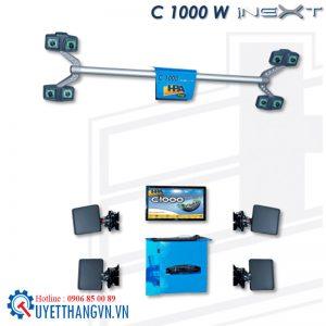 Máy cân chỉnh góc lái xe du lịch C1000 Inext HPA