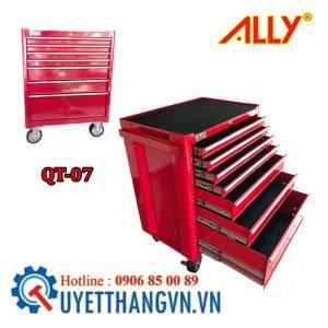 tủ dụng cụ cao cấp QT-07 được sản xuất ở Việt Nam với dây chuyền Hiện đại bởi Thiết bị công nghiệp Quyết Thắng