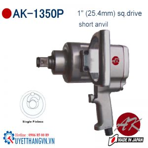 """Súng xiết bulong 1"""" AK-1350P chuyên bán ốc gầm nhíp xe"""