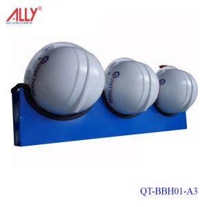 Giá treo nón mũ bảo hộ lao động QT-BBH01