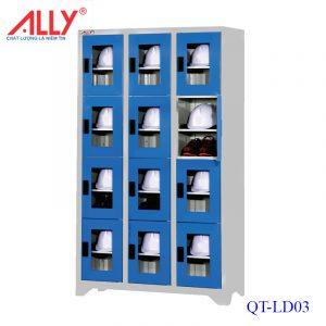 Tủ để nón - giầy bảo hộ lao động QT-LD03 Ally