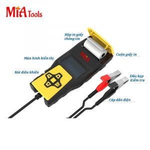 máy kiểm tra bình ắc-qui Mia Tools