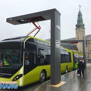 Trạm sạc xe bus điện Siemens